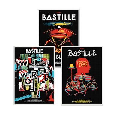 Bastille RETROSPECTIVE POSTER