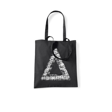 REORCHESTRATED TRIANGLE BLACK TOTE BAG