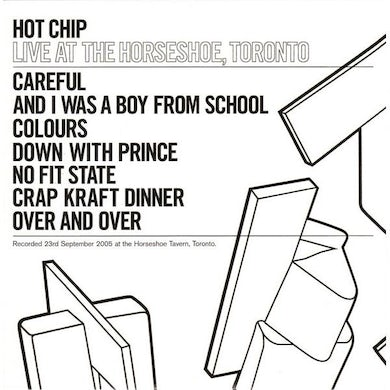 Hot Chip LIVE AT THE HORSESHOE CD