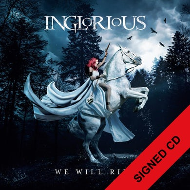 Inglorious WE WILL RIDE - SIGNED CD