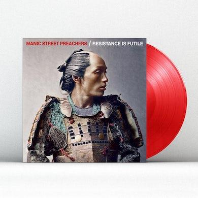 Manic Street Preachers RESISTANCE IS FUTILE - LIMITED RED LP (Vinyl)