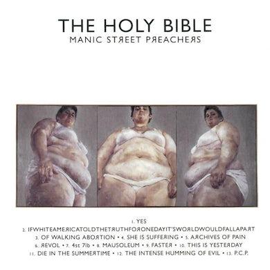Manic Street Preachers THE HOLY BIBLE (REMASTERED) VINYL