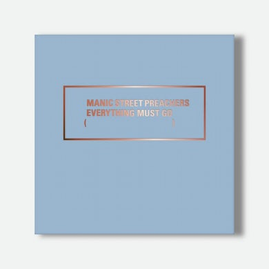 Manic Street Preachers EVERYTHING MUST GO 20 - LIMITED 20TH ANNIVERSARY EDITION BOX SET