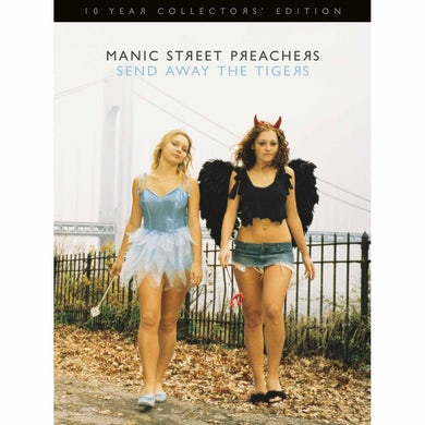 Manic Street Preachers SEND AWAY THE TIGERS 10 Year Collectors' Edition 2CD/1DVD BOOK SET