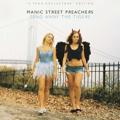 Manic Street Preachers SIGNED SEND AWAY THE TIGERS 10 Year Collectors' Edition 2LP GATEFOLD (Vinyl)