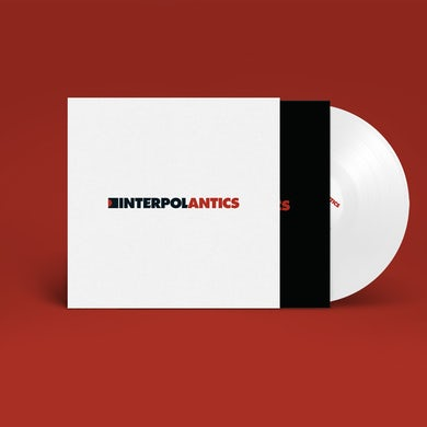Interpol Antics - White Vinyl