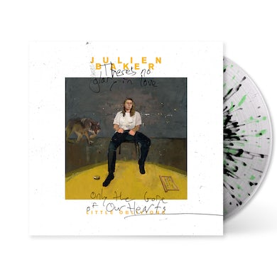 Julien Baker Little Oblivions Spotify 'Fans First' LP (cloudy clear base, black & neon green splatter) (Vinyl)