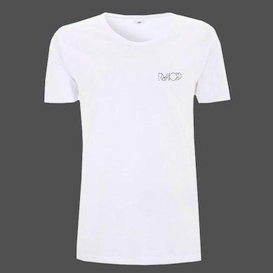 Royksopp White Breast Neck Logo Men's T-shirt