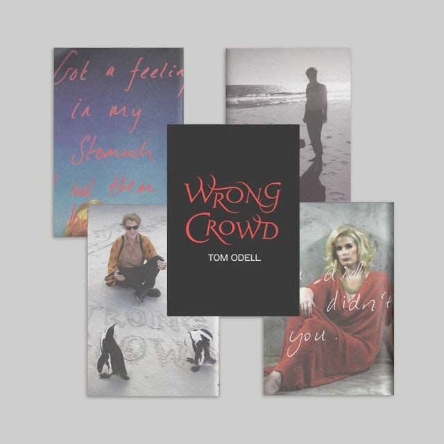 Tom Odell Wrong Crowd Post Card Set