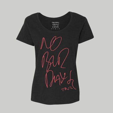 Tom Odell No Bad Days 2017 Girls Tour T-Shirt