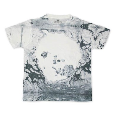 Radiohead A MOON SHAPED POOL DYE SUB T-SHIRT