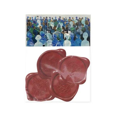 Radiohead BEARHEAD WAX SEALS (4 PACK)