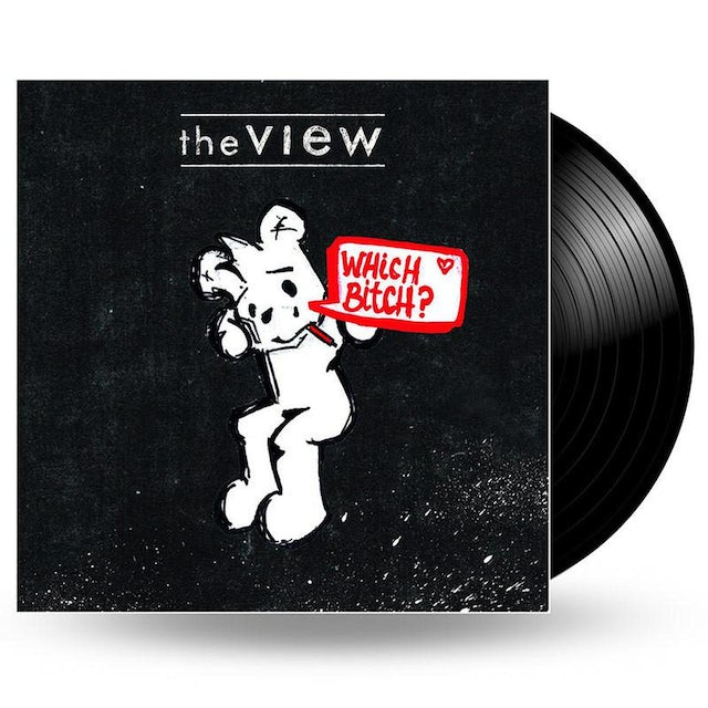 We Are Vinyl THE VIEW - WHICH BITCH? - LP