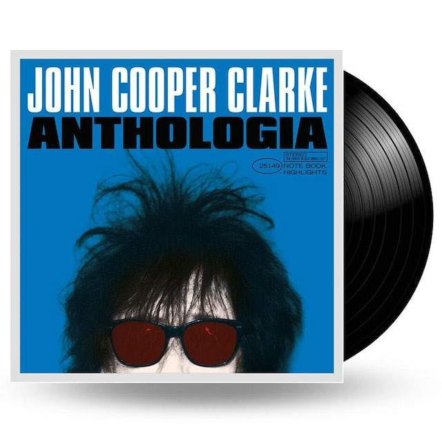 We Are Vinyl JOHN COOPER CLARKE - ANTHOLOGIA - 2LP