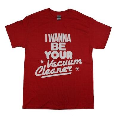 John Cooper Clarke VACUUM CLEANER RED T-SHIRT