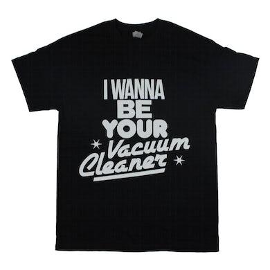 John Cooper Clarke VACUUM CLEANER BLACK T-SHIRT
