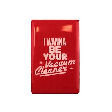 John Cooper Clarke RED VACUUM CLEANER MAGNET