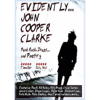 EVIDENTLY JOHN COOPER CLARKE - DVD