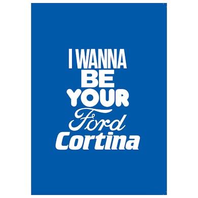 FORD CORTINA BLANK CARD