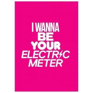 ELECTRIC METER BLANK CARD