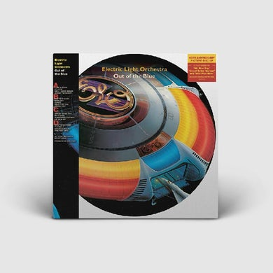 ELO (Electric Light Orchestra) OUT OF THE BLUE (PICTURE DISC) 2LP (Vinyl)