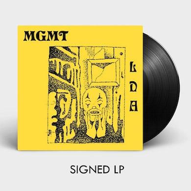 MGMT LITTLE DARK AGE - SIGNED LP (Vinyl)