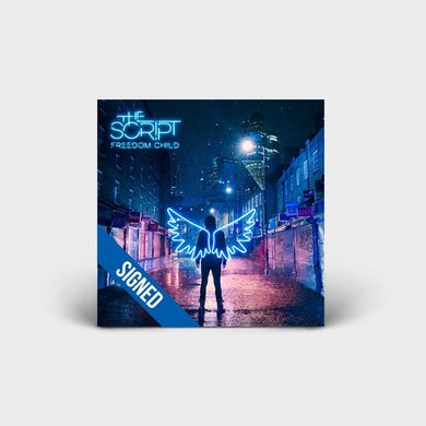 The Script FREEDOM CHILD - SIGNED DELUXE CD