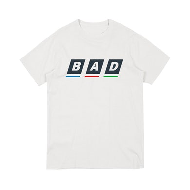 Bad Sounds BAD BBC LOGO WHITE T-SHIRT