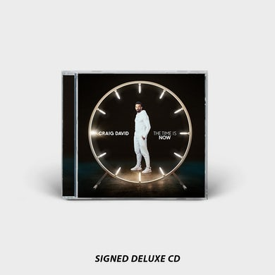 Craig David THE TIME IS NOW SIGNED DELUXE CD