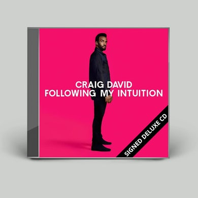 Craig David Following My Intuition Signed Deluxe CD