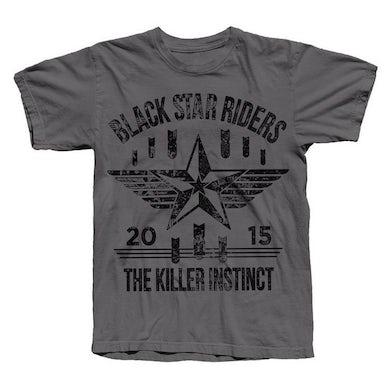 Black Star Riders Killer Instinct Grey T-Shirt