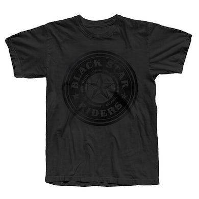 Black Star Riders Black Circle Ladies T-Shirt
