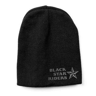 Black Star Riders Star Logo Beanie