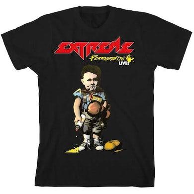 Extreme Black Meet & Greet T-Shirt