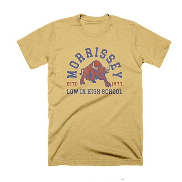 Morrissey LIHS BULL MUSTARD TEE