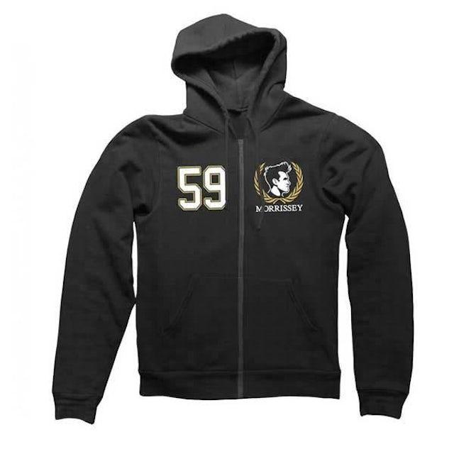 Morrissey Black 59 Crest Zip Hood