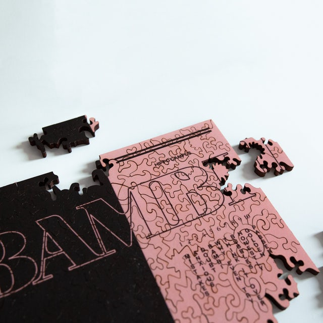 Hippo Campus BAMBI WOODEN JIGSAW PUZZLE