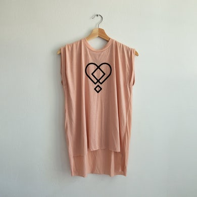 Hippo Campus HEART LADIES MUSCLE TEE