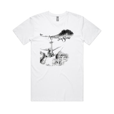 Angus & Julia Stone A BOOK LIKE THIS / WHITE T-SHIRT