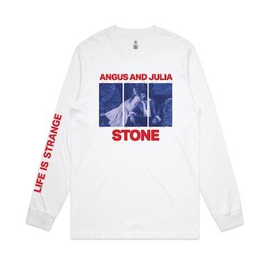 Angus & Julia Stone LIFE IS STRANGE / WHITE LONGSLEEVE T-SHIRT