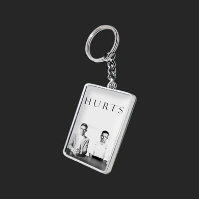 Hurts EXILE AND HAPPINESS DOUBLE SIDED KEYRING