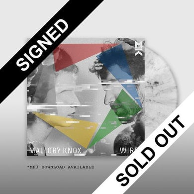 Mallory Knox SIGNED WIRED LP (Vinyl)