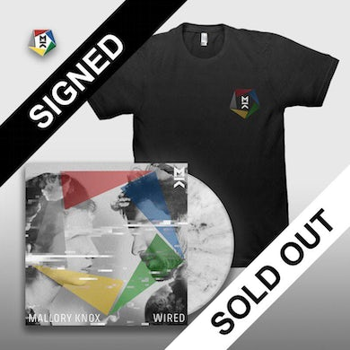 Mallory Knox SIGNED WIRED CD + TEE + PIN