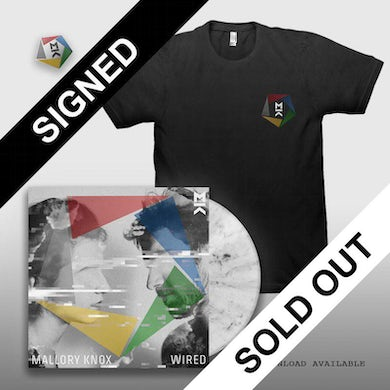 Mallory Knox SIGNED WIRED LP + TEE + PIN