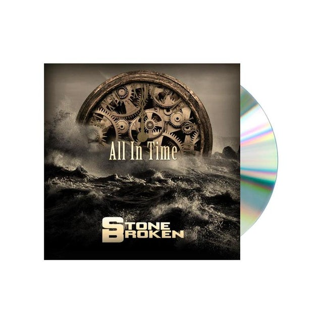 Stone Broken ALL IN TIME (CD + LP) + T-SHIRT + THE ONLY THING I NEED (CD)