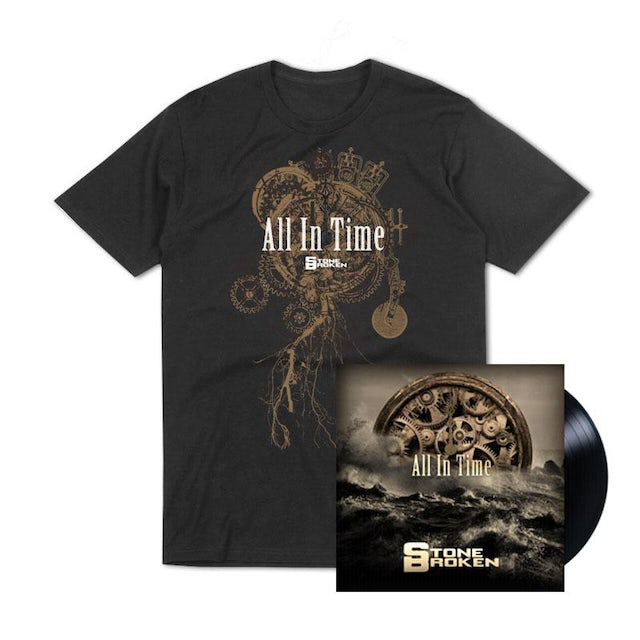 Stone Broken ALL IN TIME (LP) + T-SHIRT + THE ONLY THING I NEED (CD)