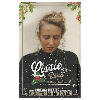 Lissie Holiday Livestream Poster