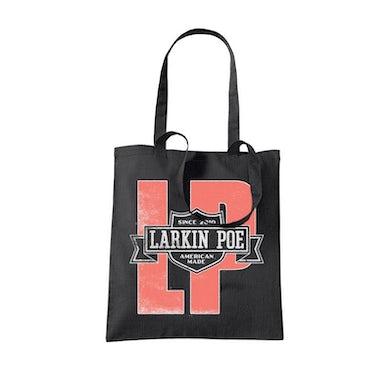 Larkin Poe MOTORCYCLE CLUB BLACK TOTE BAG