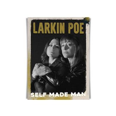 Larkin Poe SELF MADE MAN SIGNED POSTER