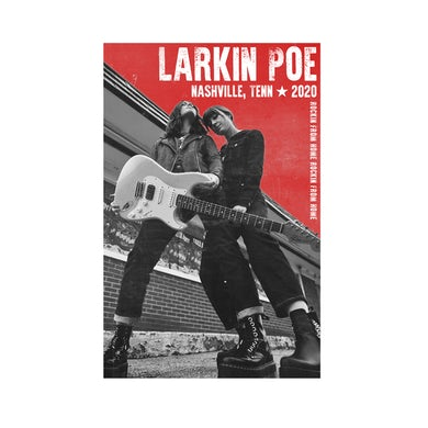 Larkin Poe Limited Edition Live Stream Poster